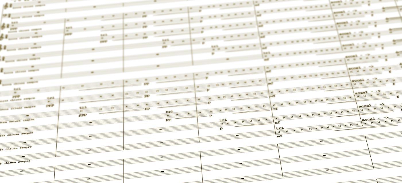 Partitur Diskurs Bayreuth 2018